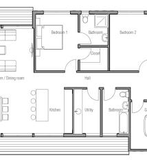 Modern House Design Plans Single Story Contemporary House Design - Contemporary home design plans