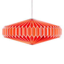 zodiac goldfish orange lamp shade u2013 funky lamp shades origami