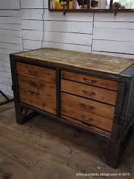 metal bureau lovely meuble palette 5 etabli industriel bureau bois metal get