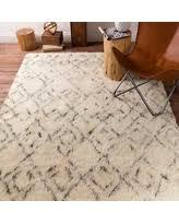 Ivory Wool Rug 8 X 10 Amazing Deal On Hand Woven Karl Geometric New Zealand Wool Rug 8