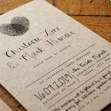 Calligraphy Wedding Invitations Fingerprint Calligraphy Wedding Invitation Feel Good Wedding