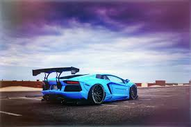 blue lamborghini wallpaper lamborghini aventador lp700 4 liberty walk performance blue shark