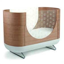 Cocoon Convertible Crib Ubabub Cocoon Shaped Pod Crib In Brown U0400