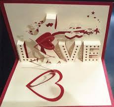 3d percept love confession tree girlfriend u0027s birthday card wedding