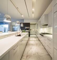 Midcentury Modern Kitchens - white kitchen mid century modern home in scottsdale arizona