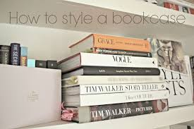 how to style a bookcase fashion mumblr
