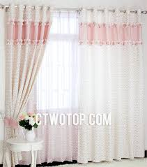 girl bedroom curtains girls favorite floral style plaid combination bedroom curtains