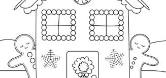 printable gingerbread house colouring page gingerbread house colouring sheet free coloring pages on art