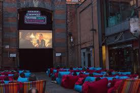 lovely backyard cinema architecture nice