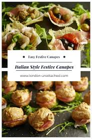food canapes canape recipes for easy festive canapes