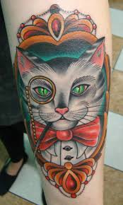 ink it up trad tattoos blog cat tattoo by ian dana tattoo