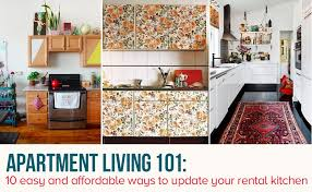 easy kitchen update ideas 10 easy ways to give your rental kitchen a makeover 6sqft