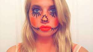diy easy halloween makeup fangle magazine