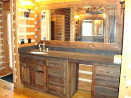 Rustic Bathroom Mirror - rustic mirrors for bathrooms goodlifeclub info