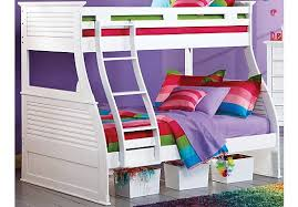 Cartoon Bunk Bed by Shop For A Belmar White 5 Pc Twin Over Full Bunk Bed At Rooms To