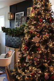 decorating with a luxe christmas lodge theme