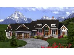 single story craftsman house plans craftsman ranch with angled garage hwbdo77277 ranch from