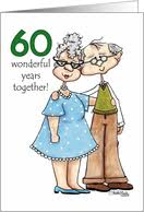 60th wedding anniversary greetings 60th wedding anniversary cards from greeting card universe