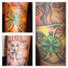 77 irish tattoos shamrock clover cross claddagh tattoo