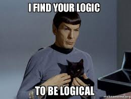 Find Your Meme - i find your logic to be logical spock and cat meme make a meme