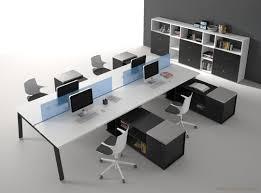 bureau open space atreo avec dessertes bureau