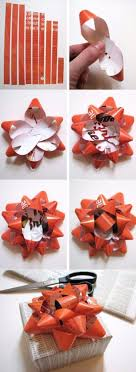 gift bow diy 50 creative bows to make for your christmas packages diy