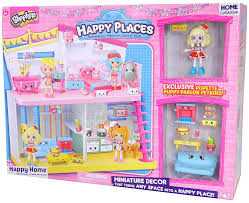 Hello Kitty Bedroom In A Box Amazon Com Happy Places Shopkins Happy Home Toys U0026 Games