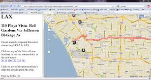 Metro Expo Line Map by Week 3 Website Assignment Advanced Gis Web Gis