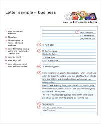 business letter format sle business letter format exle 8 sles in word pdf