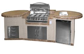 cal flame 4 burner built in propane gas grill with cabinet