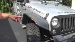 jeep fender flares jk jk bushwacker fender flares how it looks now 2 youtube