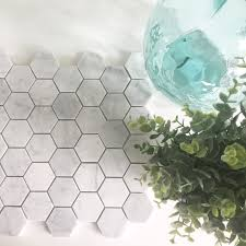 Floor And Decor Morrow Ga Decorating Pentagon Light Grey Tile Backsplash Floor And Decor