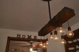 Wooden Light Fixtures Rustic Wood Light Fixture With Reclaimed Beam Id Lights Wood Light