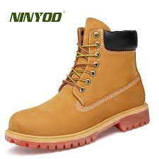 s yellow boots ninyoo s winter boots genuine leather 100 wool boots ankle