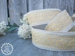 gold lace ribbon gold lace and burlap ribbon countrychapelweddings