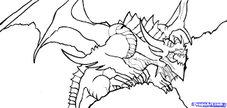 download dragon coloring pages realistic ziho coloring