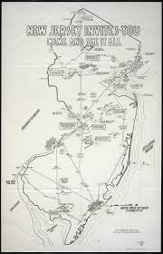 New Jersey Map New Jersey Historical Maps