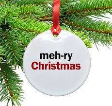 Large Ceramic Christmas Tree Meh Ry Christmas Ceramic Christmas Ornament U2013 Neurons Not Included