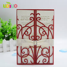 Wedding Invitation Cards Printing Online Get Cheap Simple Wedding Cards Printing Aliexpress Com