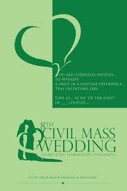 sample civil wedding invitation iidaemilia com
