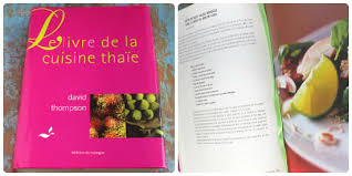 un livre de cuisine mes livres de cuisine thaïlandaise préférés la plus