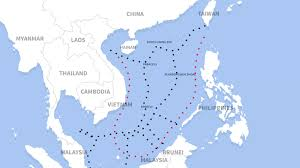 Seas Of The World Map by South China Sea Beijing Urges Preparation For U0027war At Sea U0027