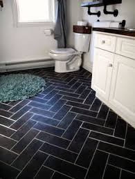 Floor Lino Bathroom Sheet Vinyl That Looks Like Hexagonal Tile From Linoleum City
