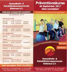 Aok Bad Neustadt Redakteur Gesundheits Und Rehabilitationssportverein Elsteraue