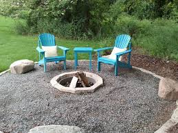 Minneapolis Patio Furniture by Minneapolis Inground Fire Pit Patio Traditional With Crushed Stone
