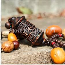 tibetan prayer wheel nepal woodcarving pu tizi car hanging pendant
