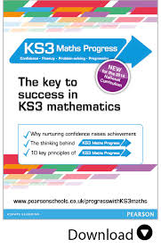 KS  Maths Progress   Progress with confidence Pearson Schools and FE Colleges