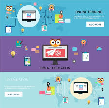 design online education online education web design templates with horizontal style free