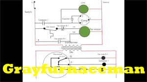 schematic diagram 9 air conditioning youtube