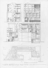 planos de casa curutchet tecnne arquitectura y contextos